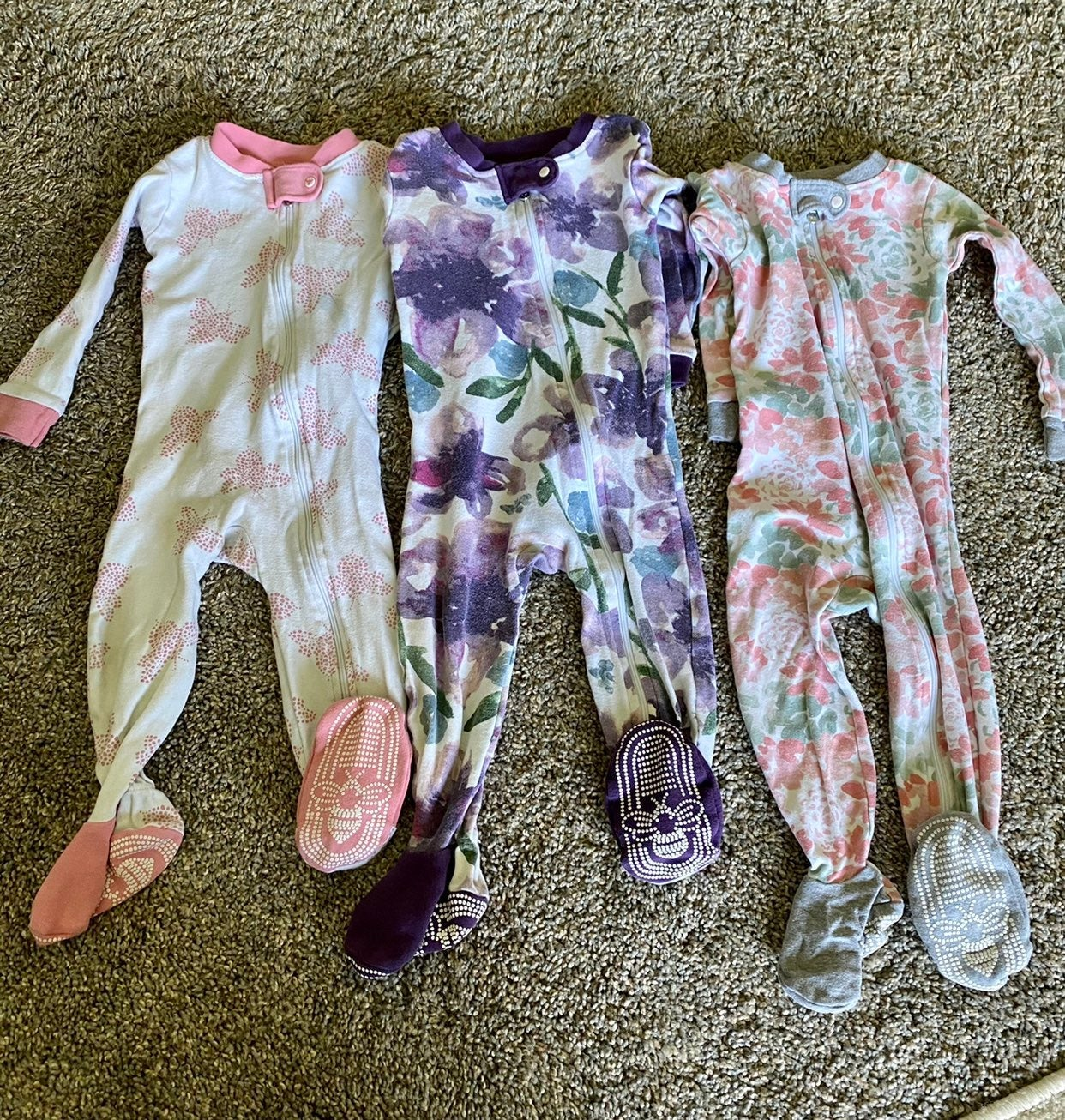 12 month girl pajamas