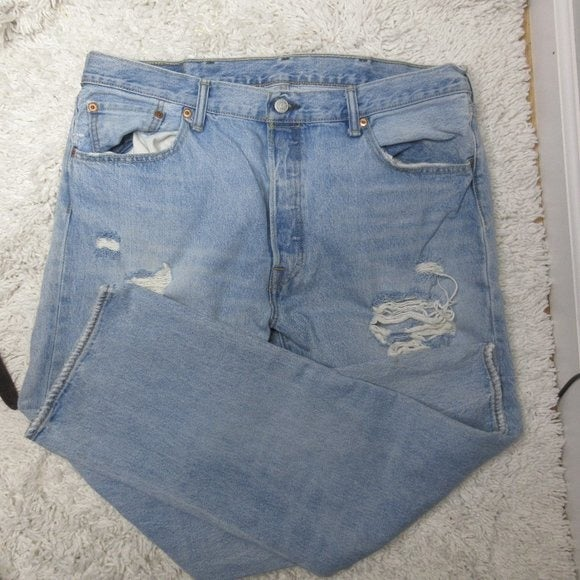 Levis 501 xx distressed jeans sz 38 x 30