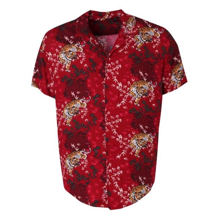 Brave Soul London Floral Summer Shirt S
