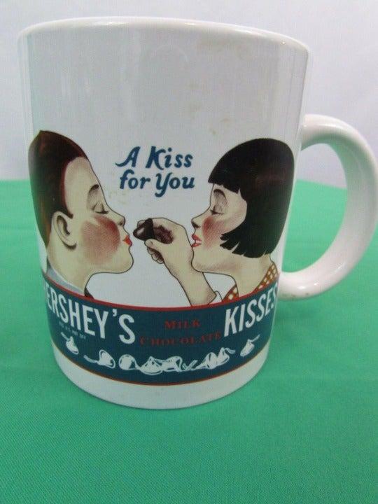 Hershey Kisses Coffee Cup Mug 1979 Vinta