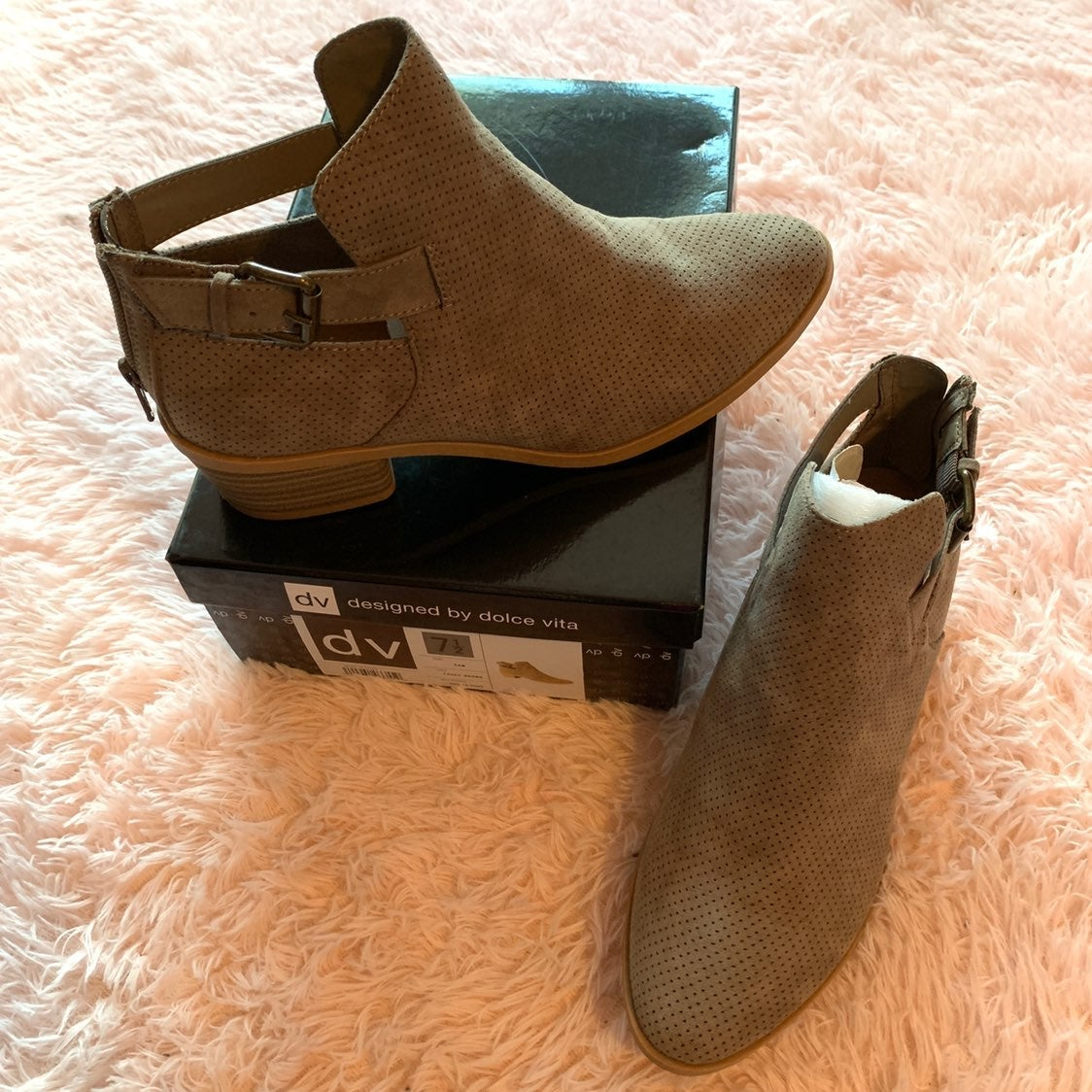 Fall Ankle Booties Size 7.5