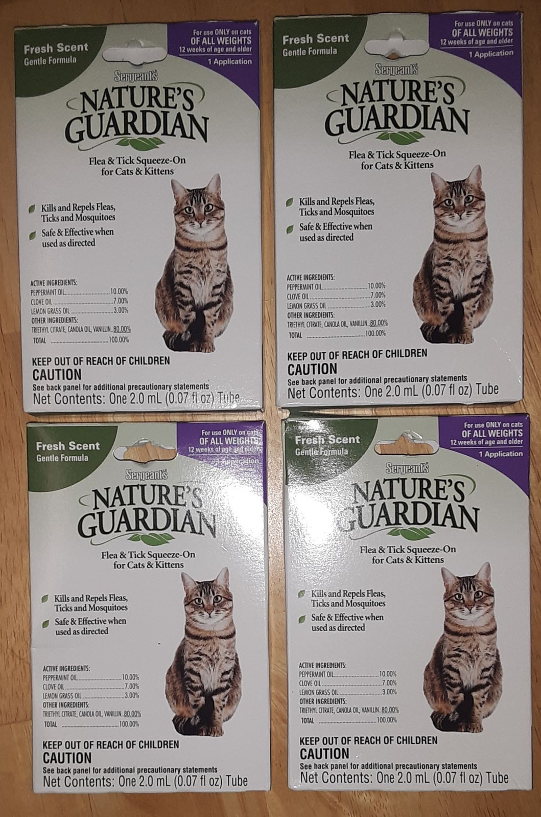 NATURE'S GARDEN FLEA & TICK SQUEEZE