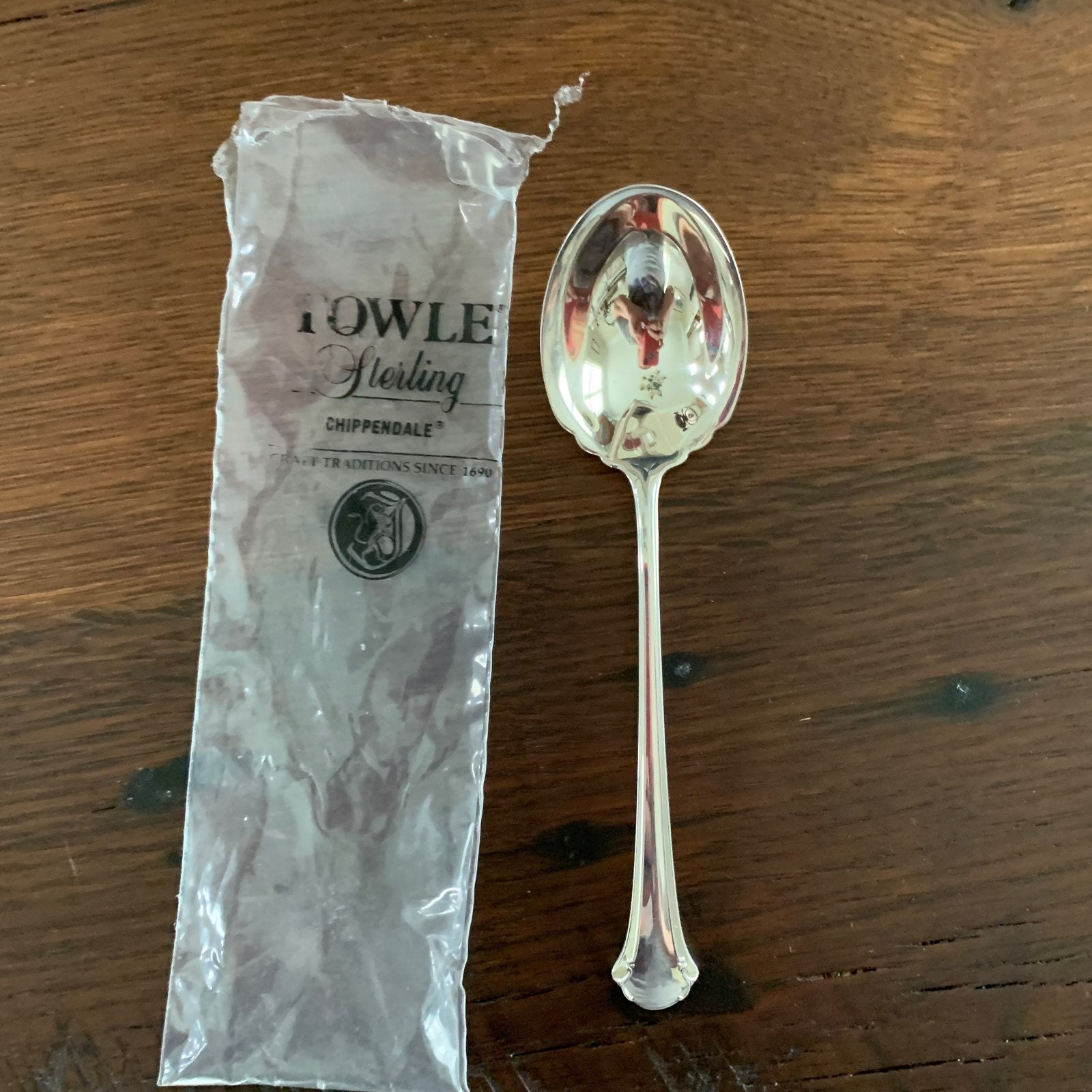 Towle Chippendale Sterling Sugar Spoon
