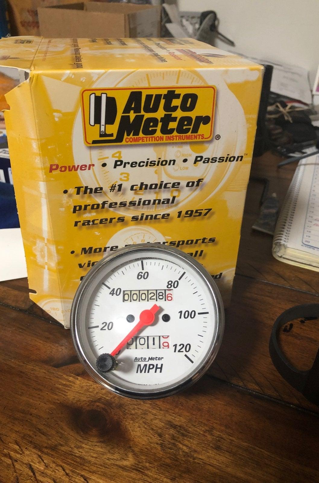 Auto Meter Speedometer