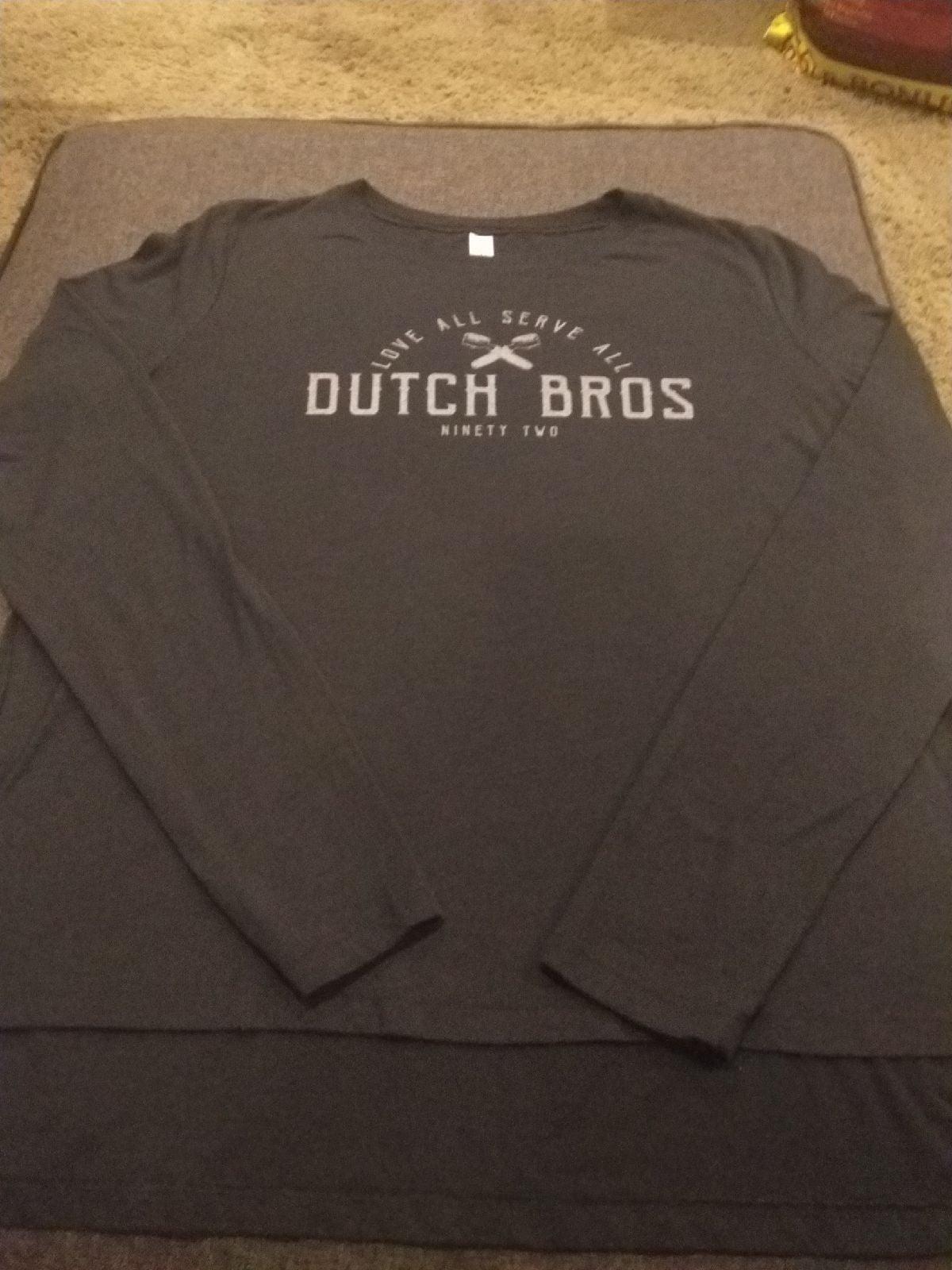 Love All Serve All Dutch Bros shirt