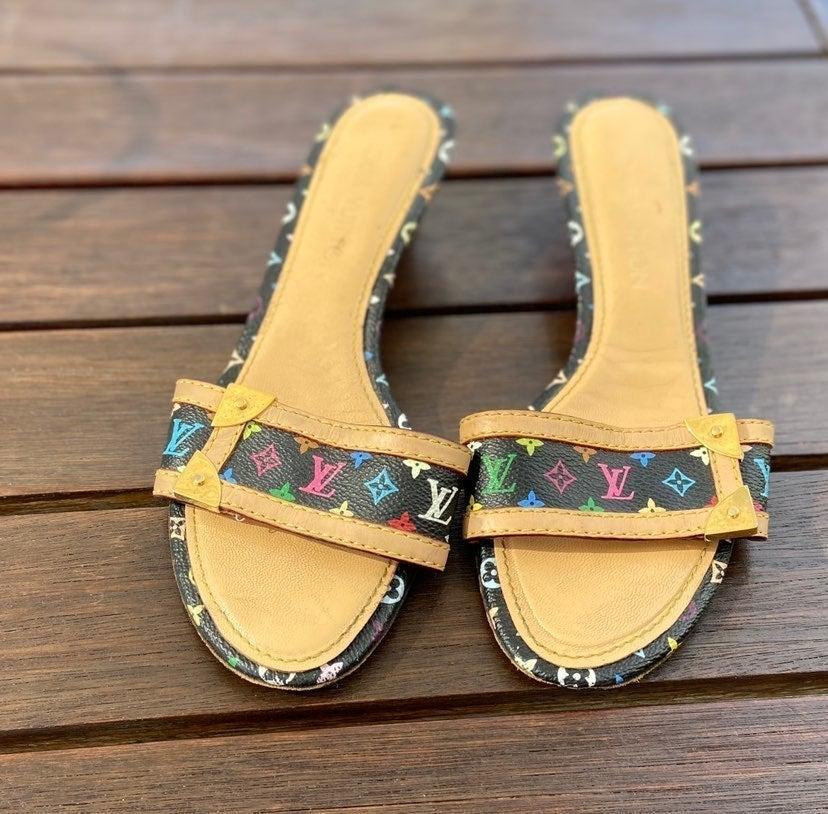 Louis Vuitton murakami sandals