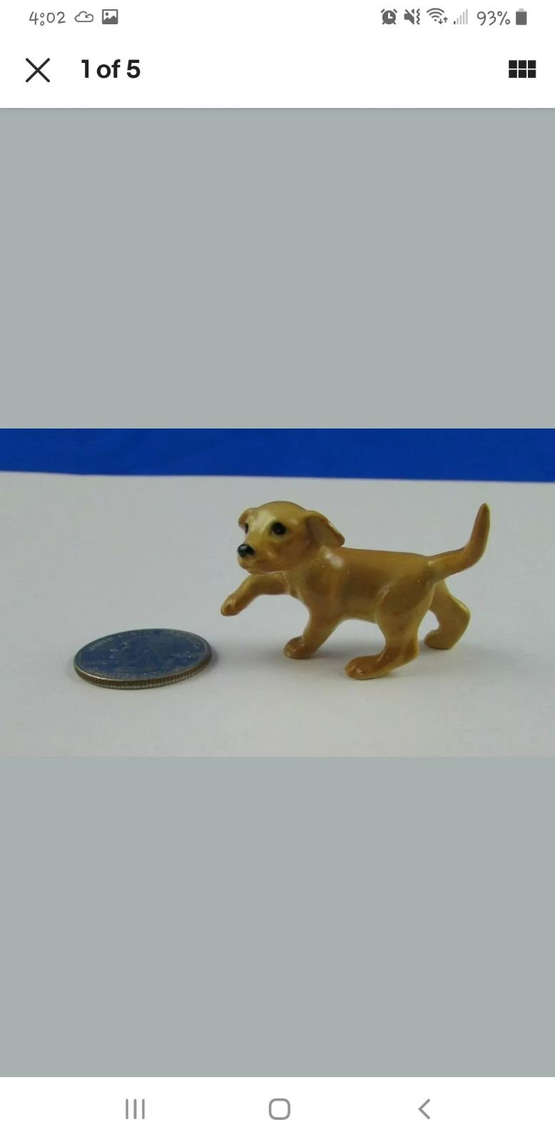 Hagen Renaker Yellow Labrador Retriever
