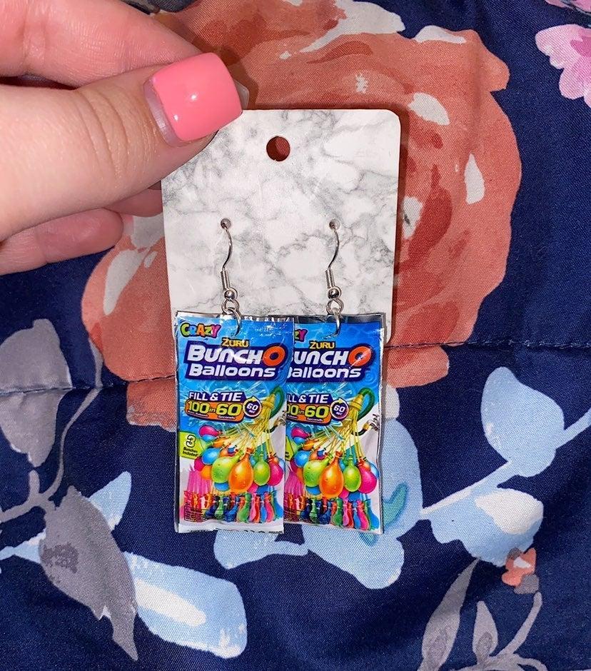 Toy Mini Brands BunchOBalloons Earrings