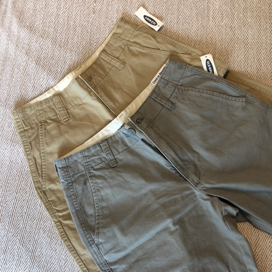 NWT Men's 10in Old Navy Shorts Set of 2