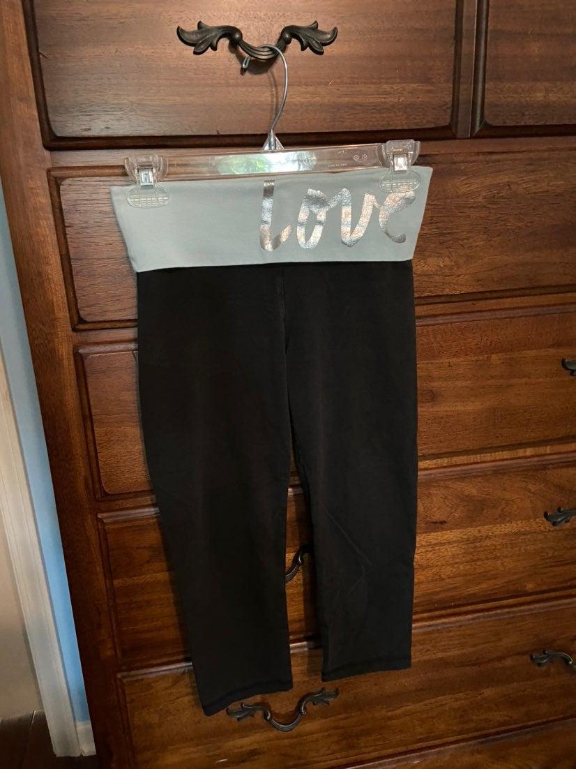 PINK crop leggings