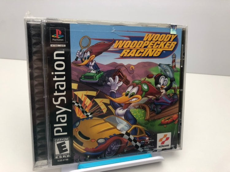 Woody Woodpecker Racing PS1