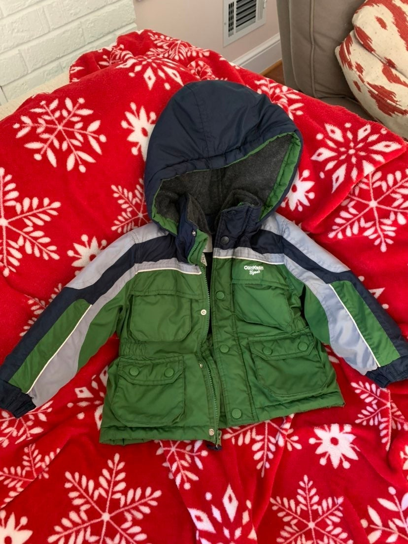 3T OshKosh B'Gosh Coat Jacket Boys