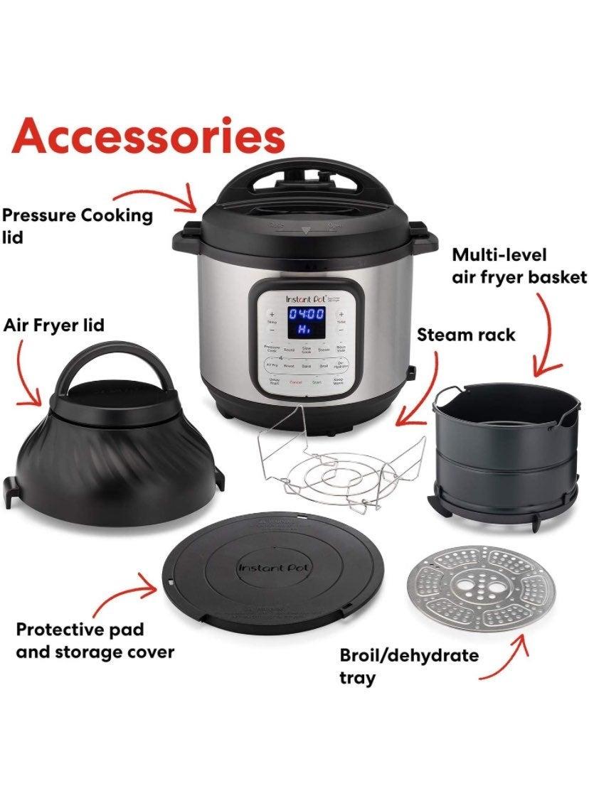 Instant Pot Duo Crisp + Air Fryer