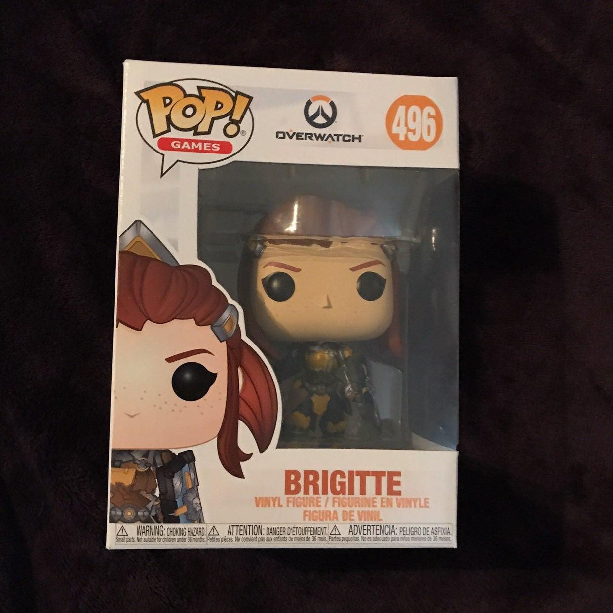 Brigitte From Overwatch Funko 496