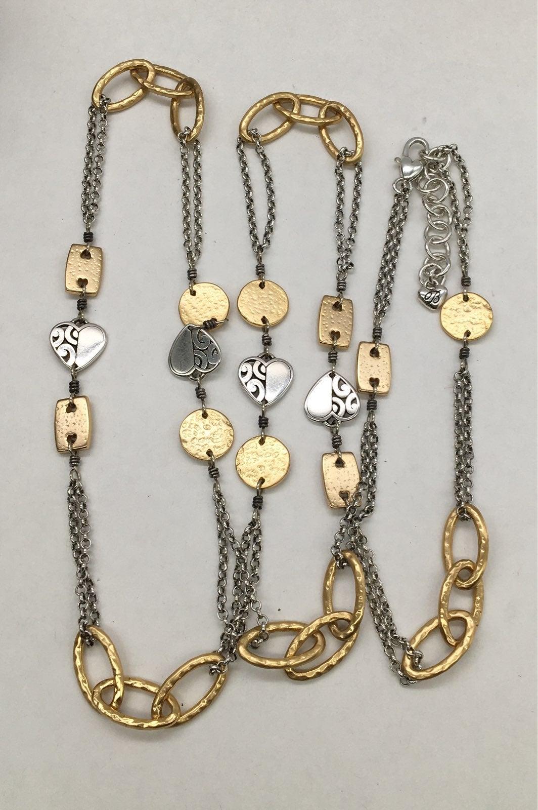Brighton Jewelry Two Tone Necklace