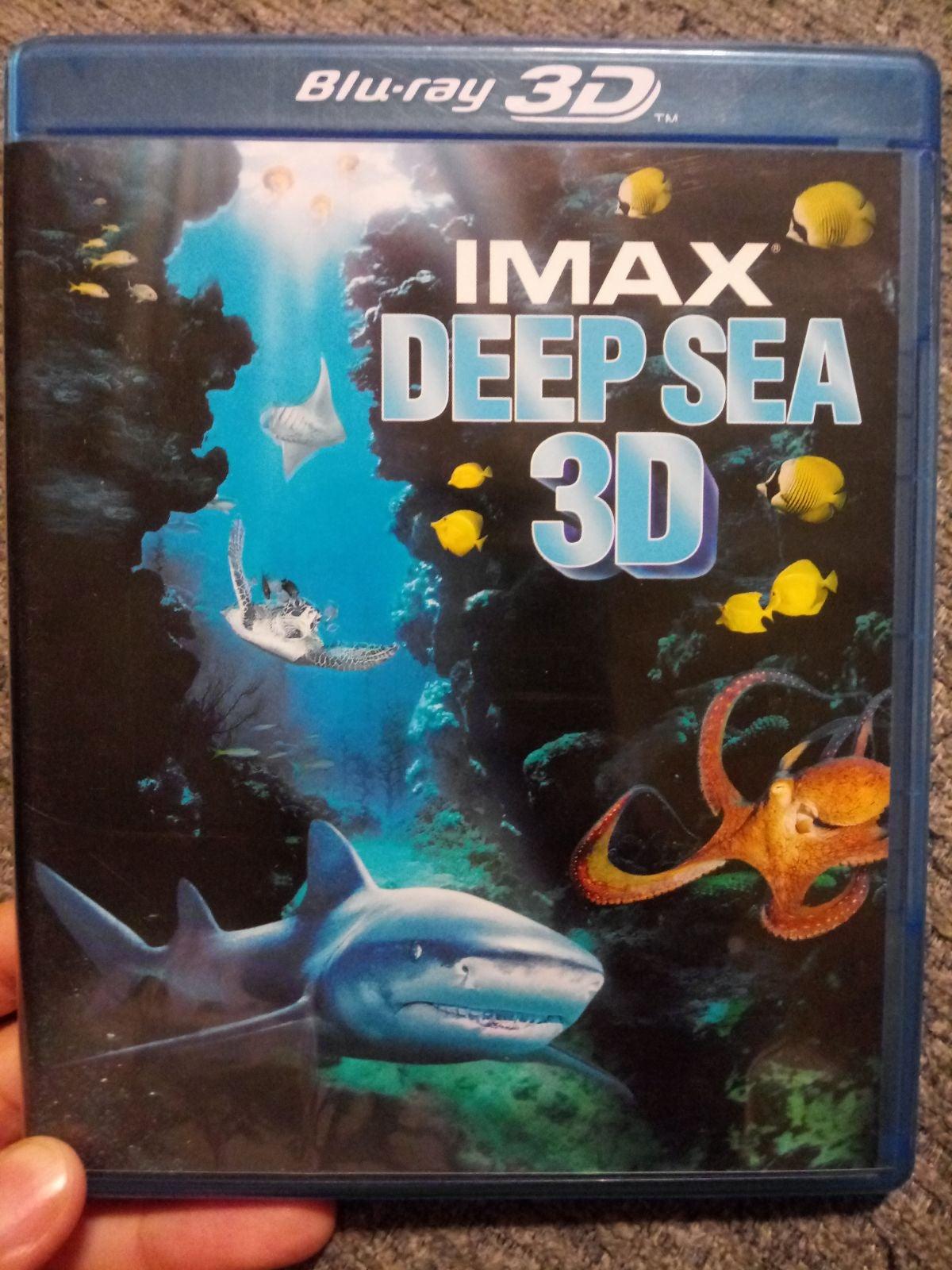 IMAX DEEP SEA 3D BLU-RAY!