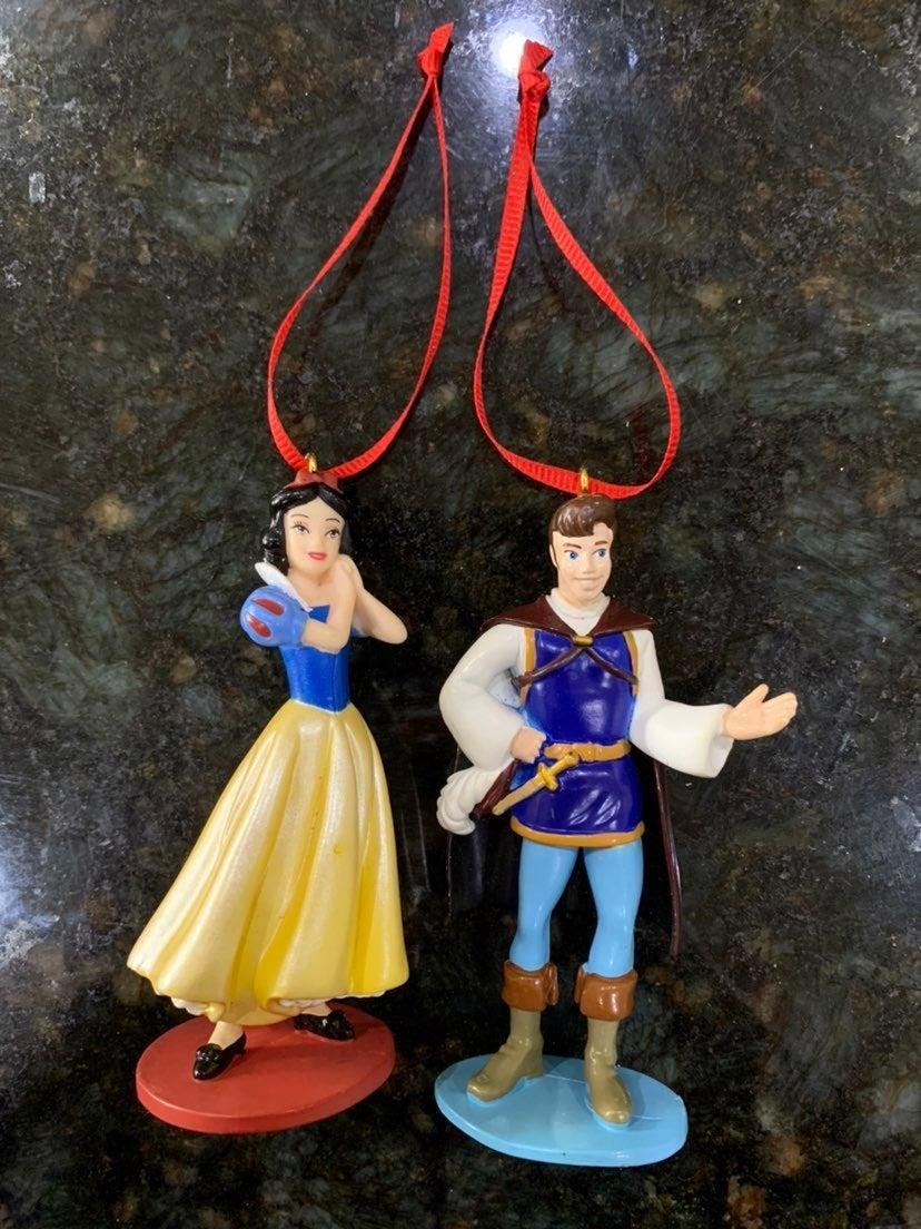 Snow white Ornaments Handmade