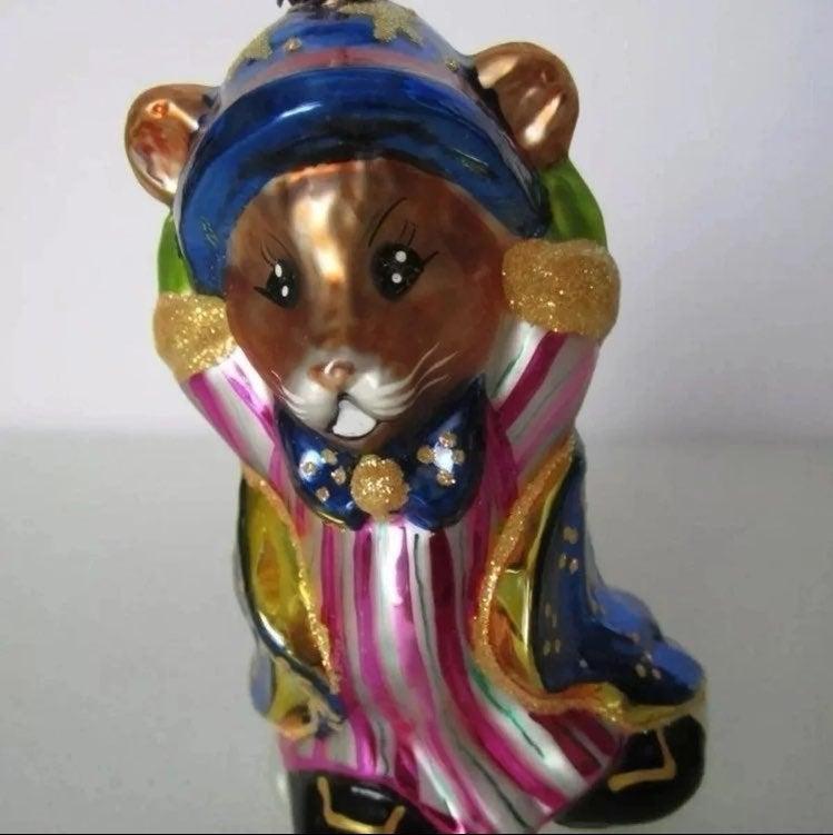 Radko Mouse Magic Ornament