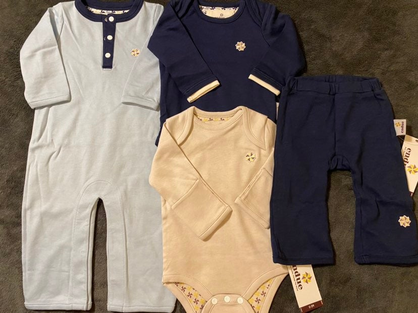 NWT endue baby Outfit LOT