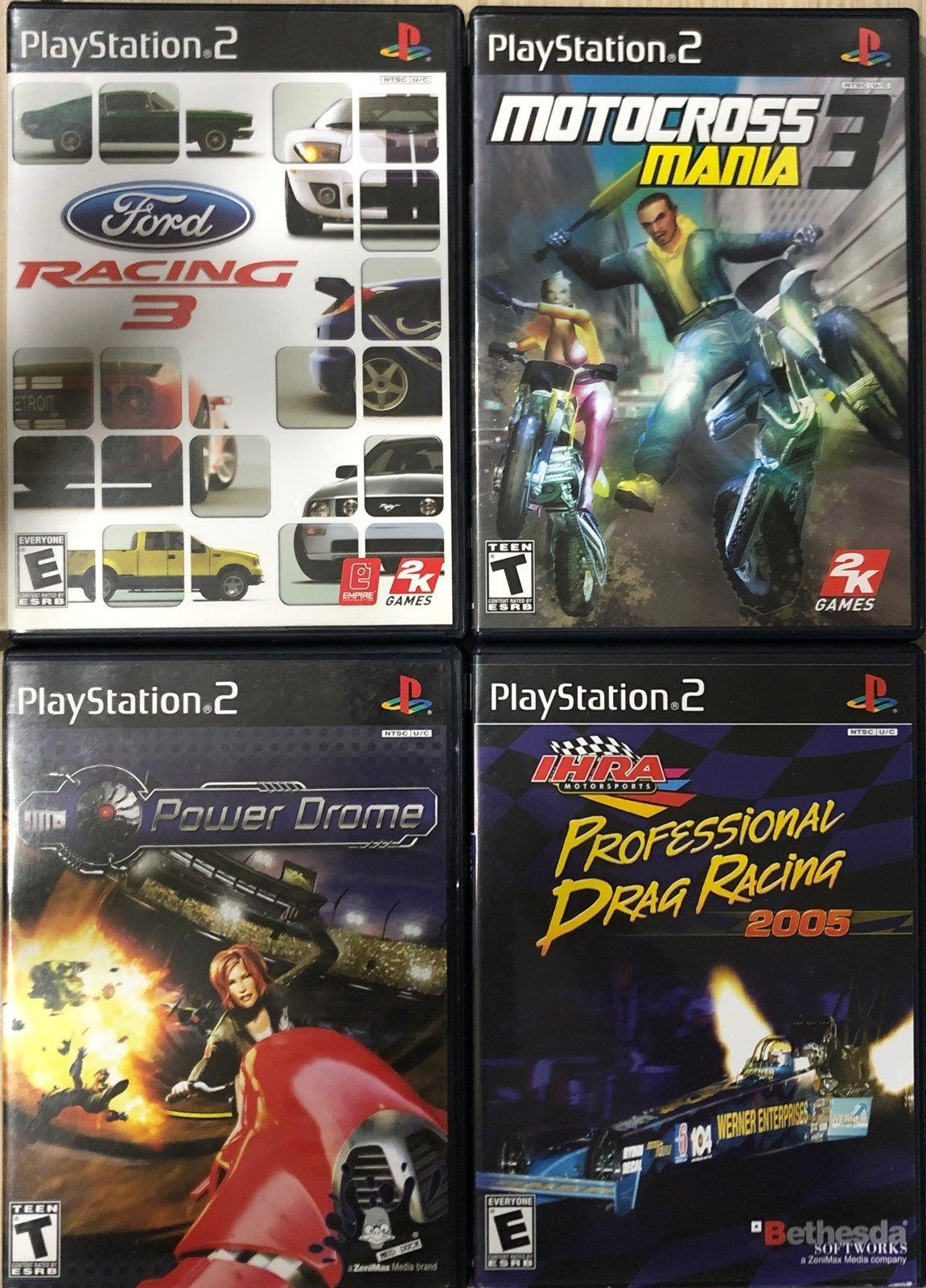 PS2 Vintage Racing Game Pack (4 games)