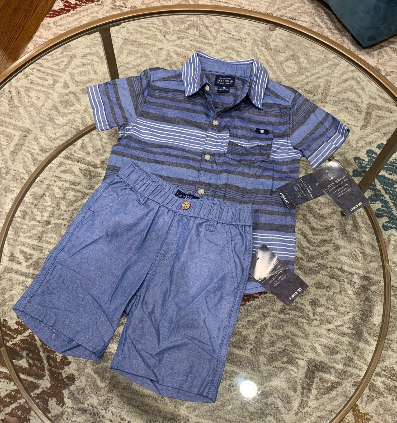 NEW Lucky Brand Outfit 3T