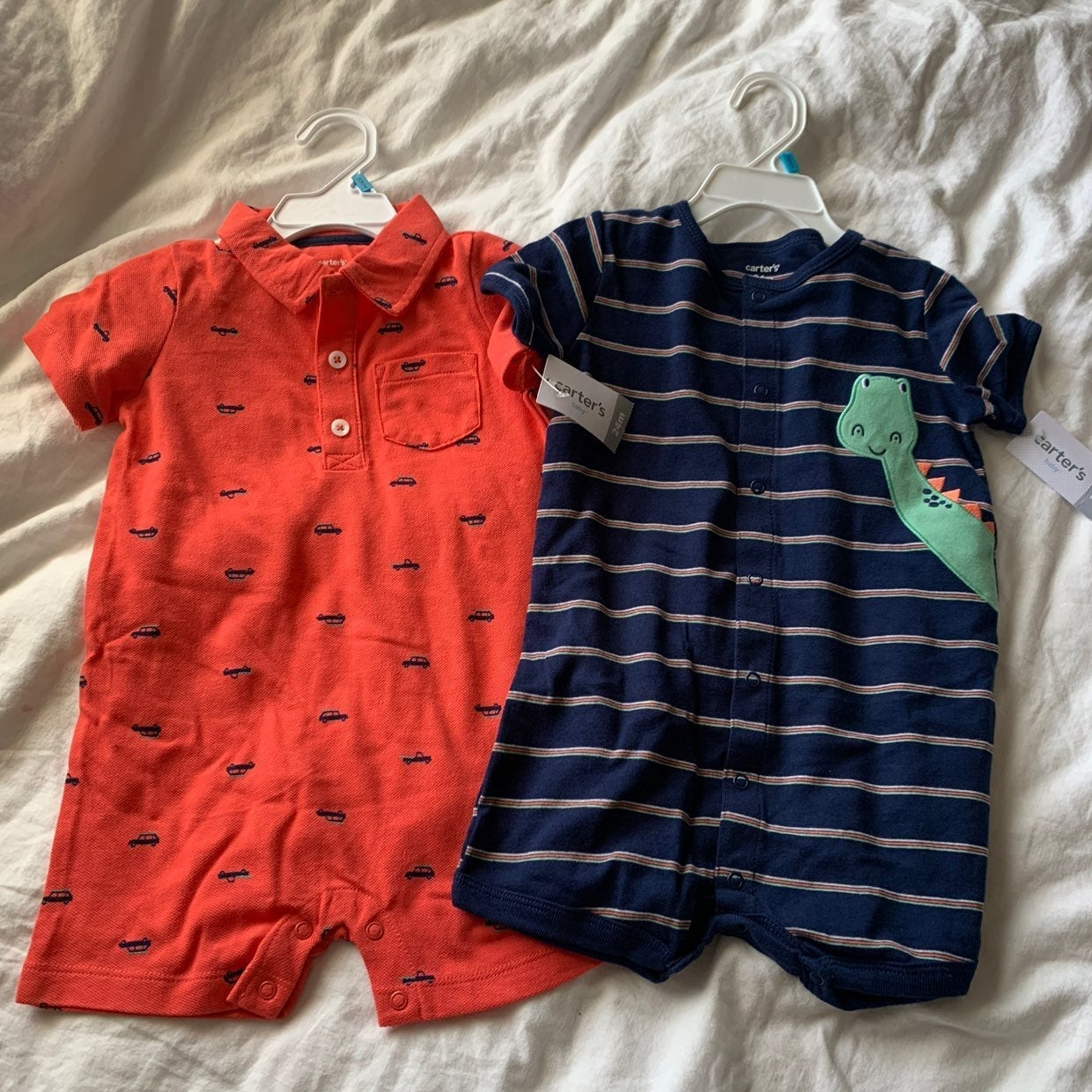 NWT Baby rompers 24mo