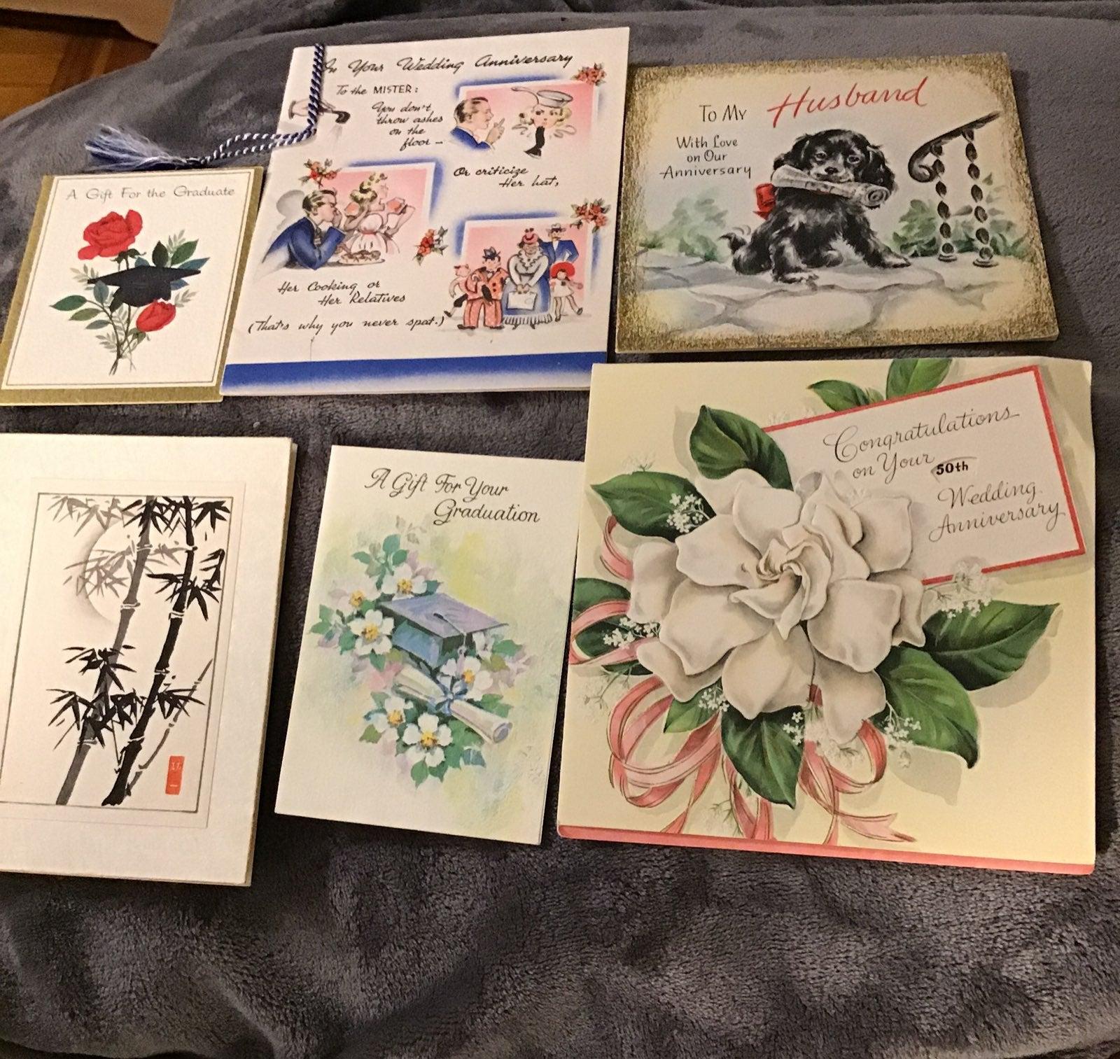 Cards,greeting, Anniversary,graduation