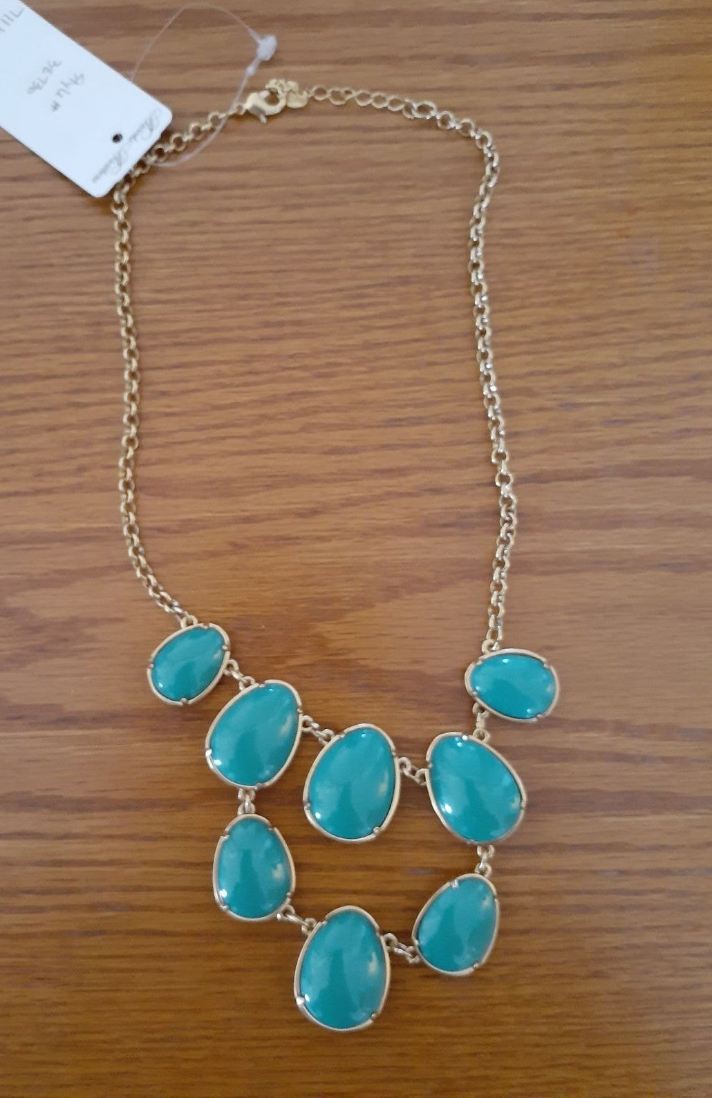 Brooks brothers Necklace turquoise color