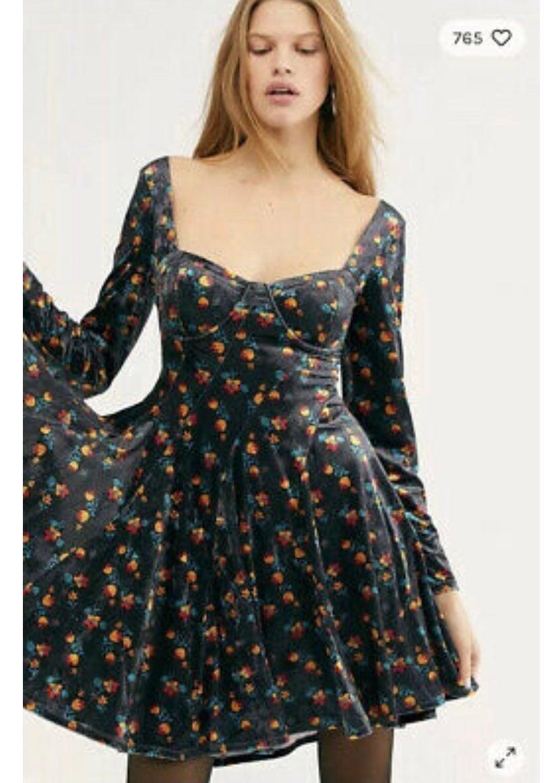 Free people velvet dress