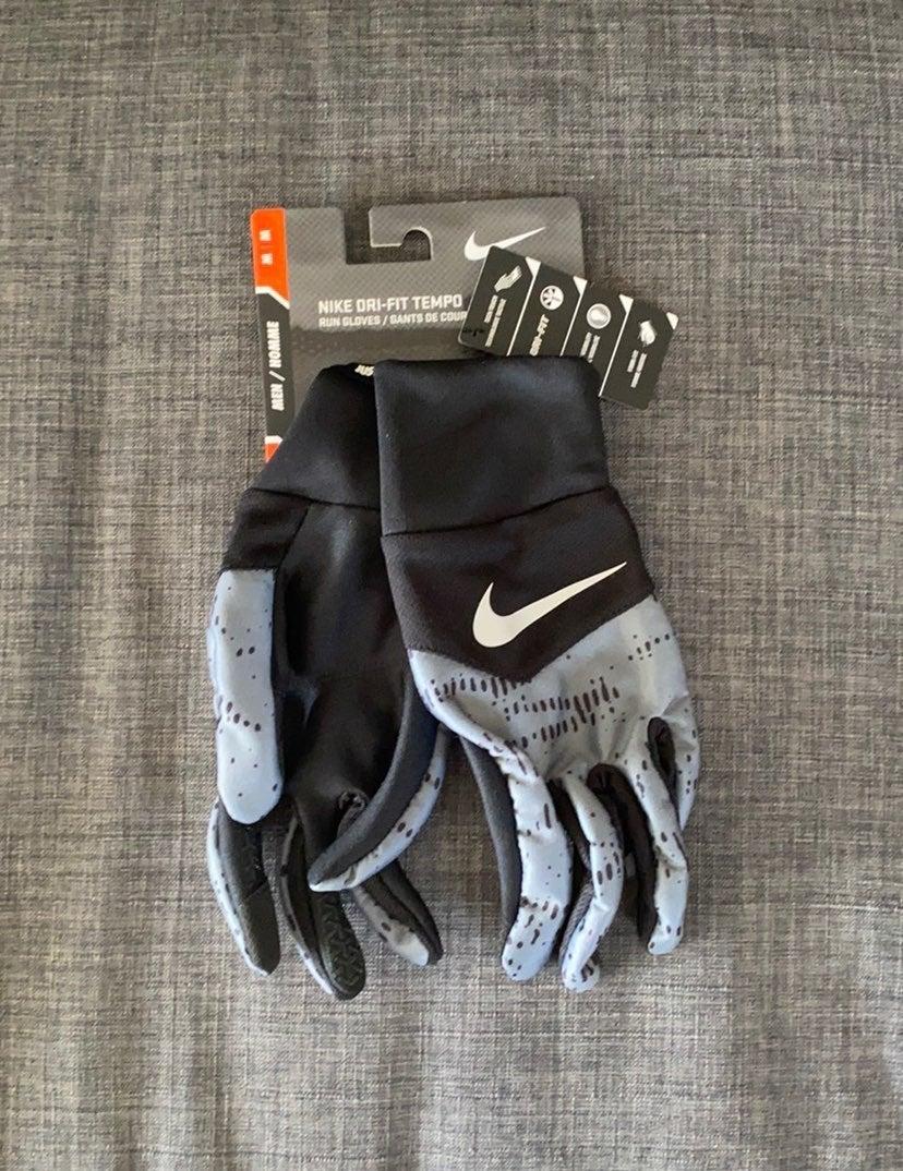 Nike Dri-Fit Tempo Run Gloves Medium