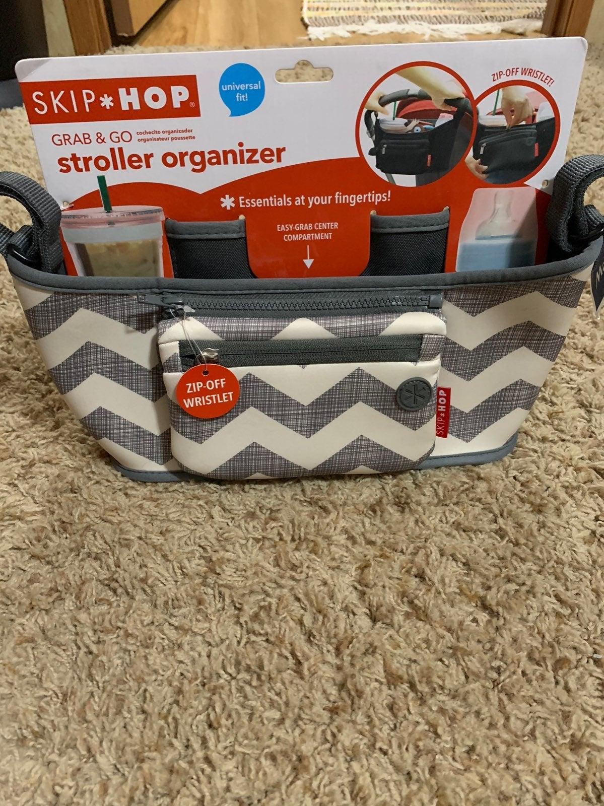 Grab and Go stroller organizer