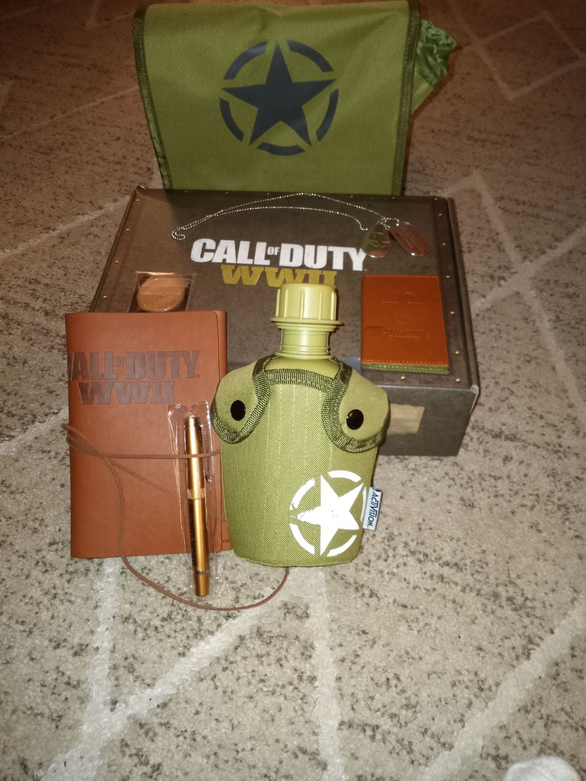 Call of Duty WWII Collectors Edition Box