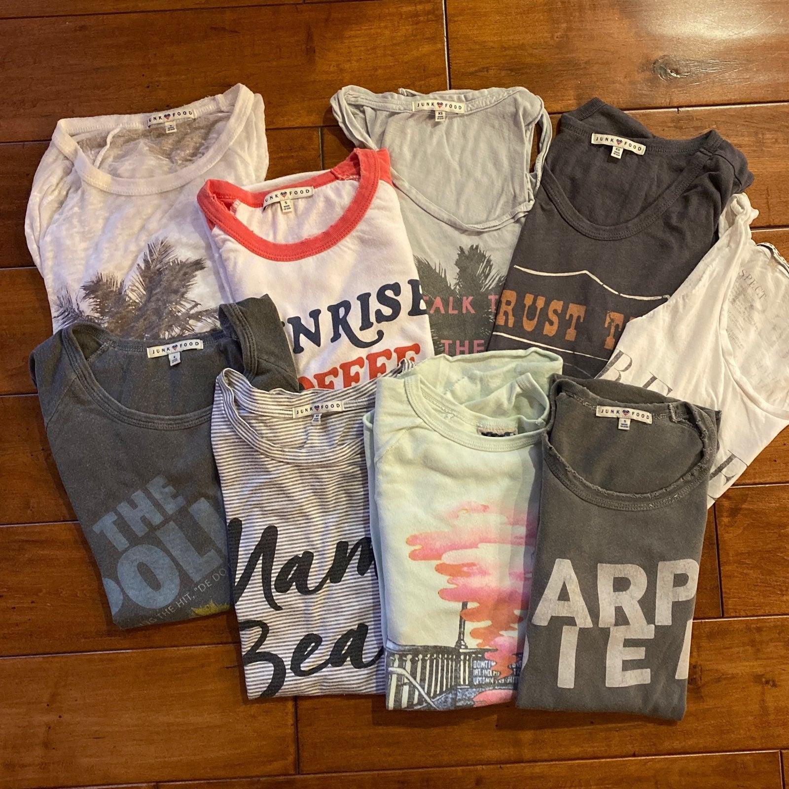 Junk Food T shirt bundle