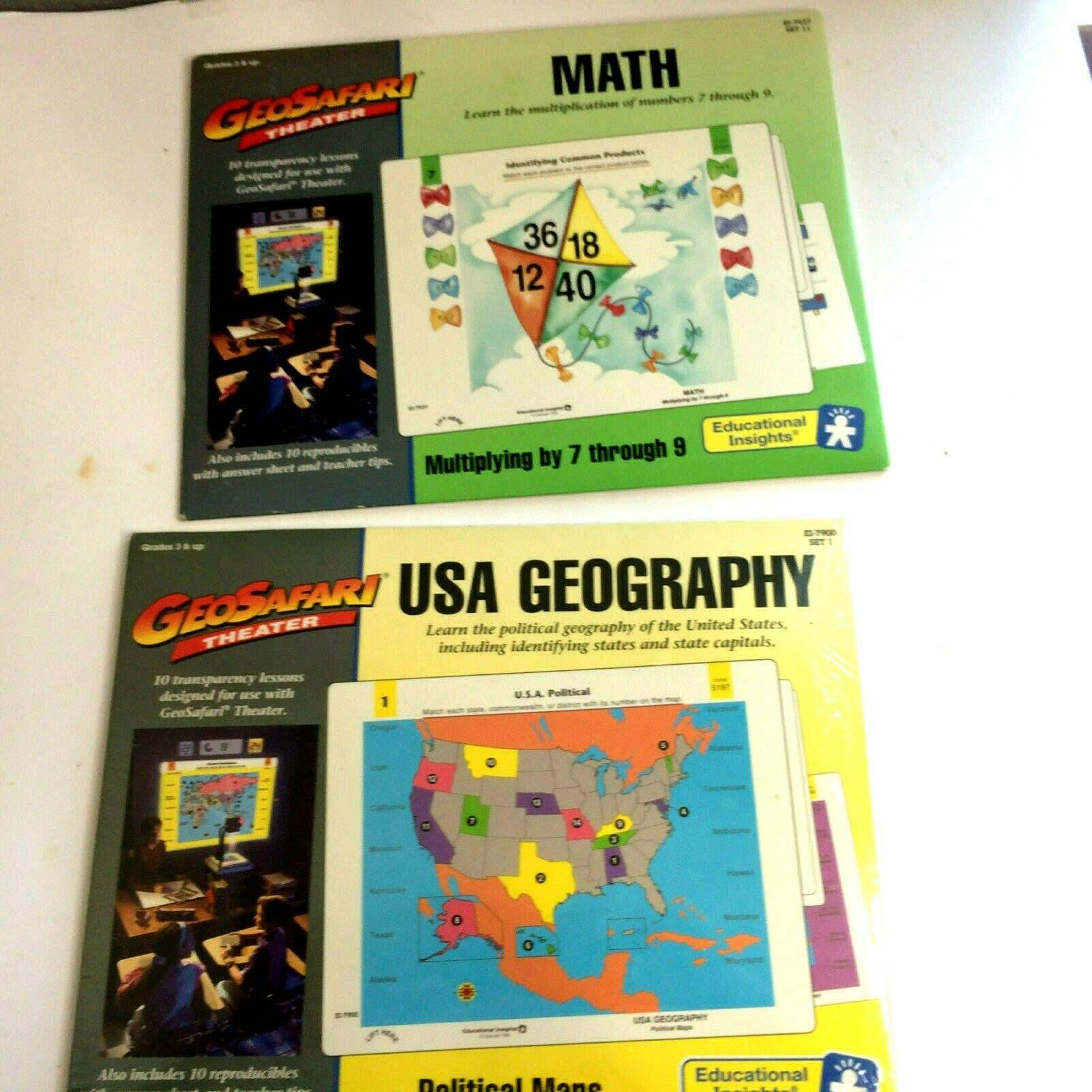 NEW USED Geosafari 3rd Grade and Up