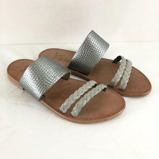 Joie Womens Sandals Slides Leather Braid