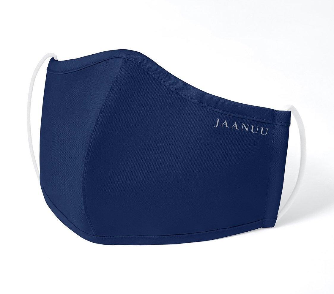 NEW Jaanuu Face Mask Reusable Navy