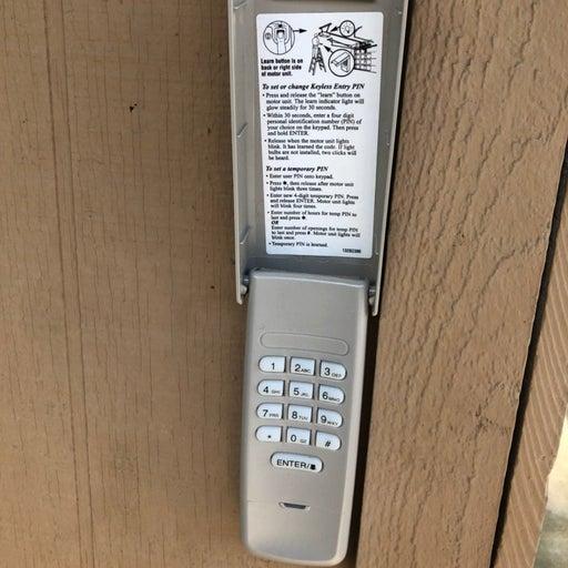 Garage Door 41A6147 877LM Keypad Opener