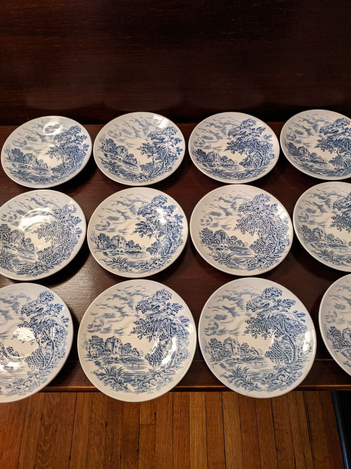 Vintage Wedgewood Countryside saucers