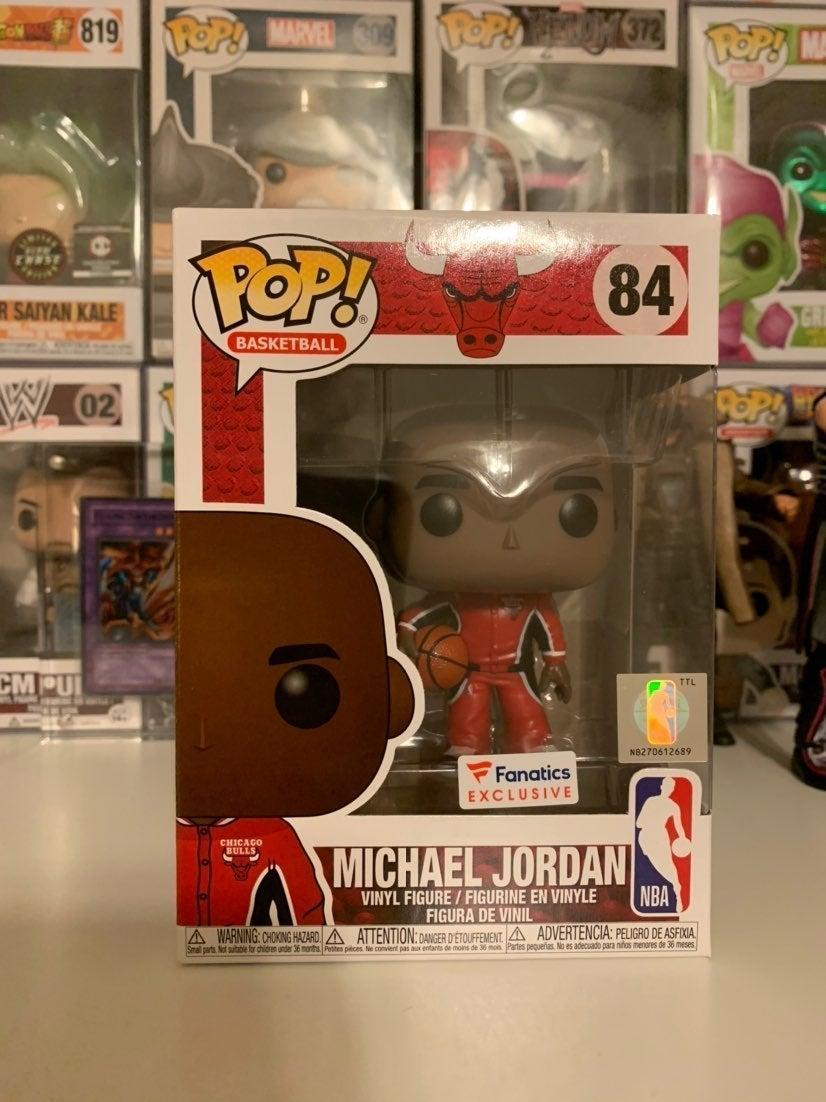 Michael Jordan Warmup Fanatics Funko Pop