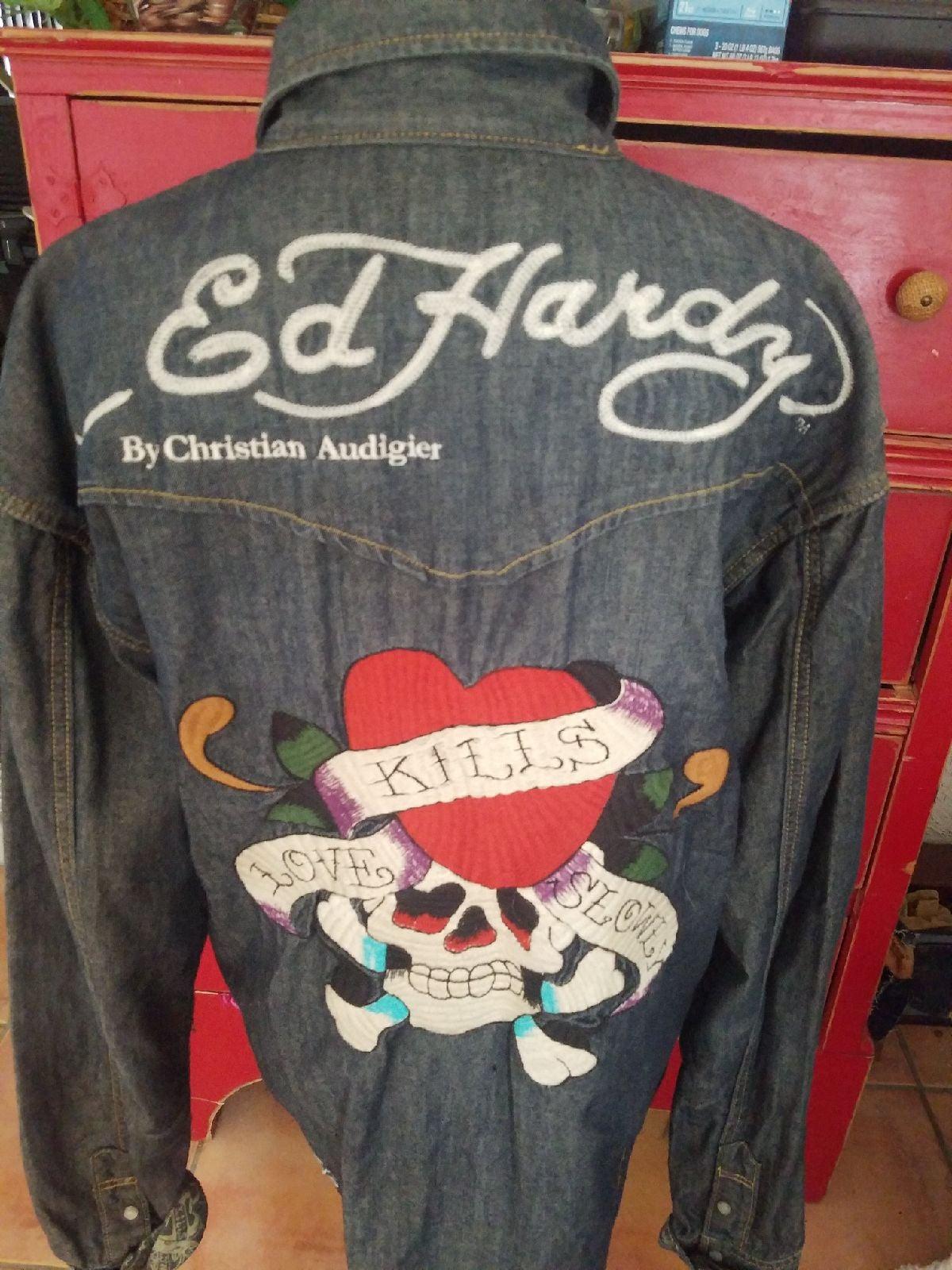 ED HARDY denim