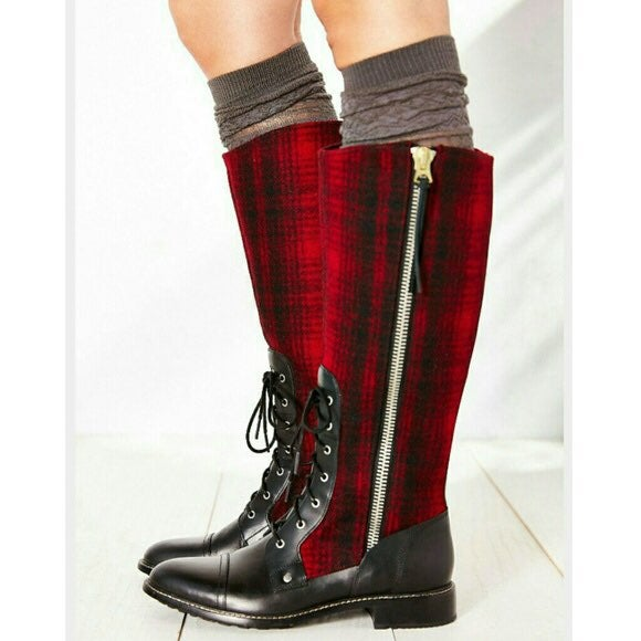 Woolrich Roadhouse Red Plaid Boots