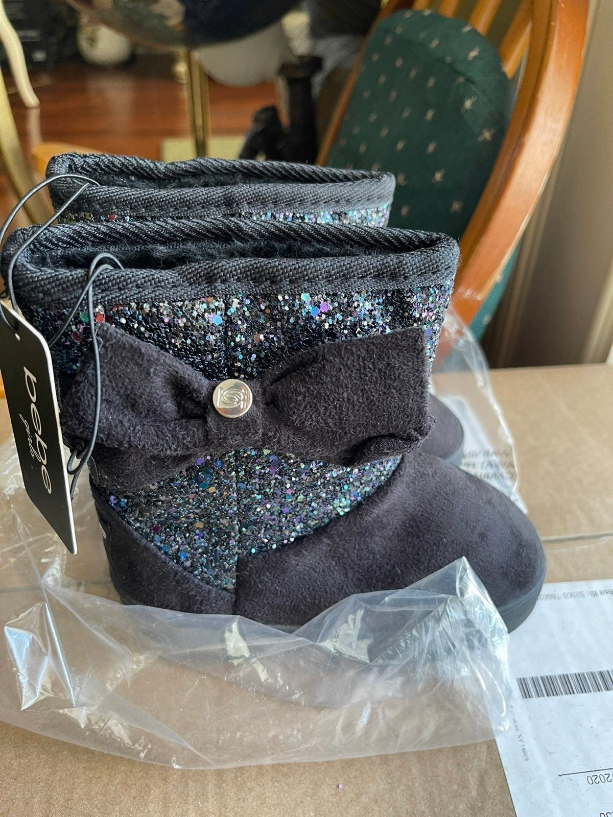 Bebe boots kids size 8