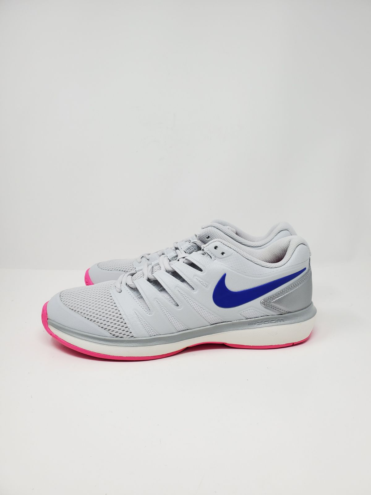 NEW NIKE TENNIS SHOES GREY BLUE PINK