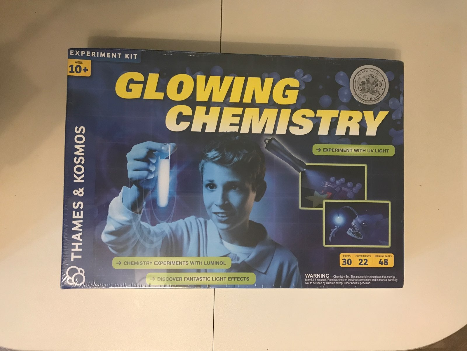 Glowing Chemestry Experiment Kit