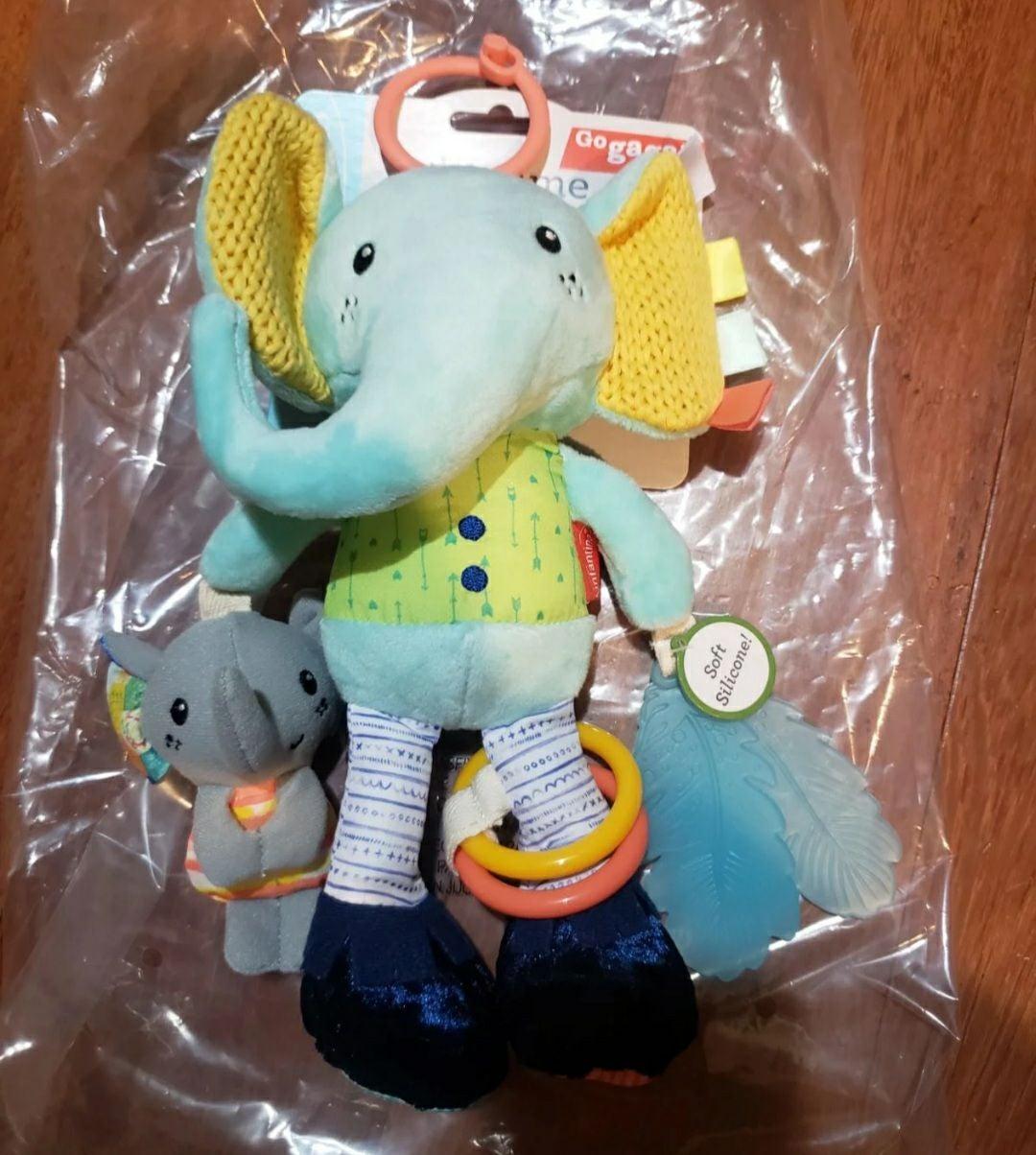 New Infantino Playtime Pal - Elephant