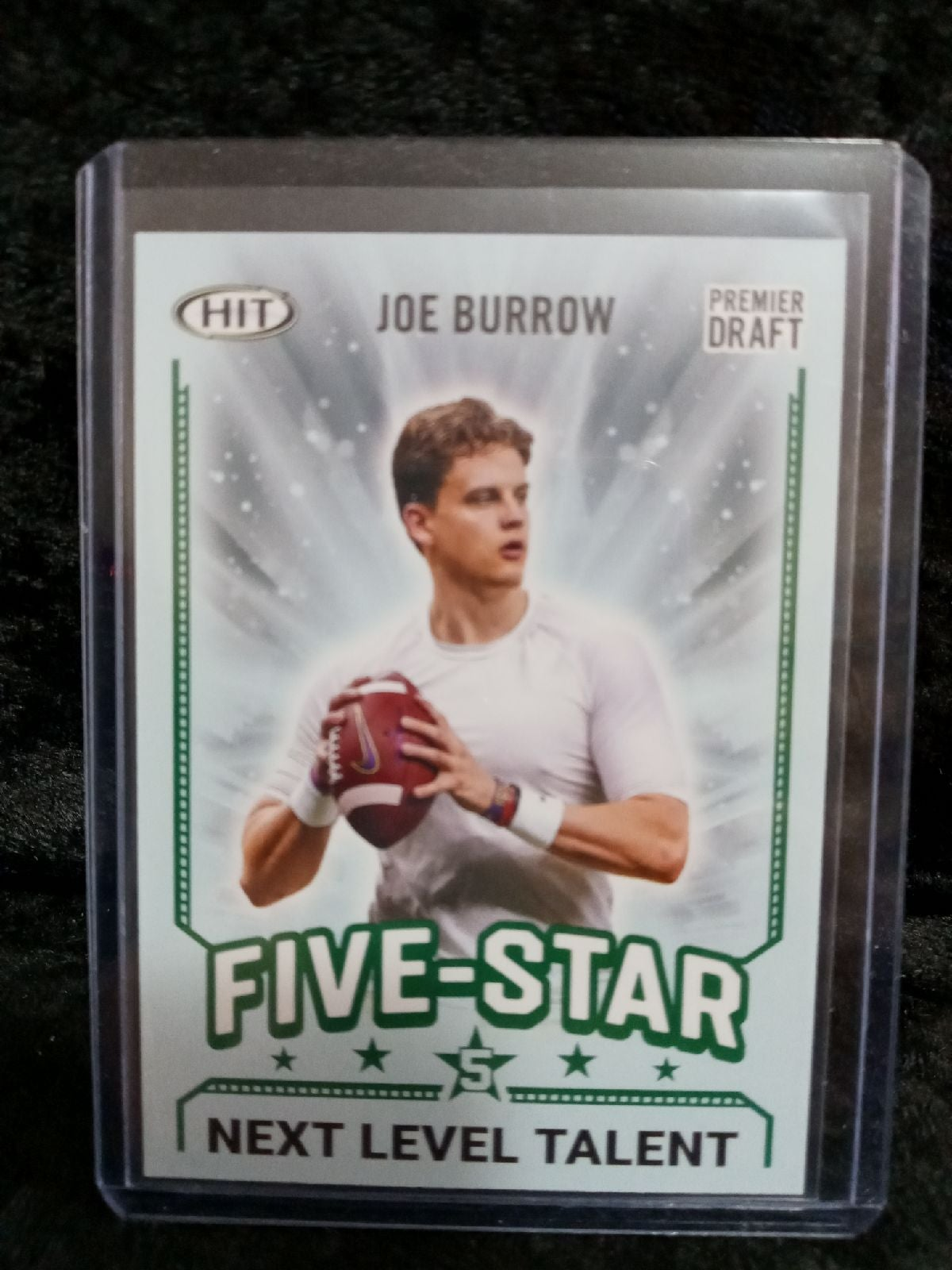 20 Five Star#94 Joe Burrow RC