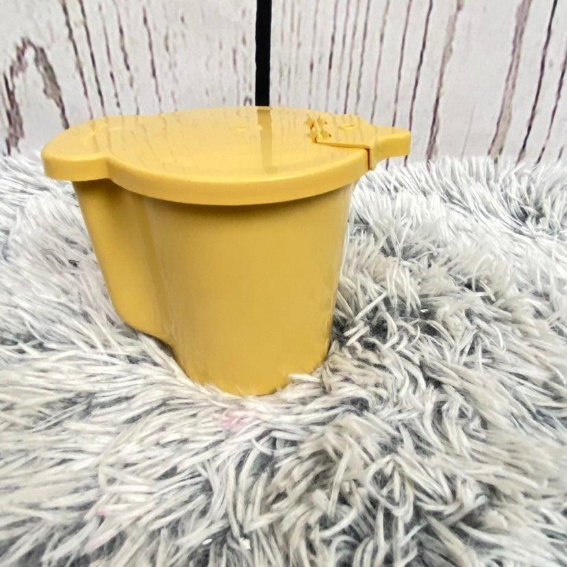 Vintage Tupperware Yellow Creamer