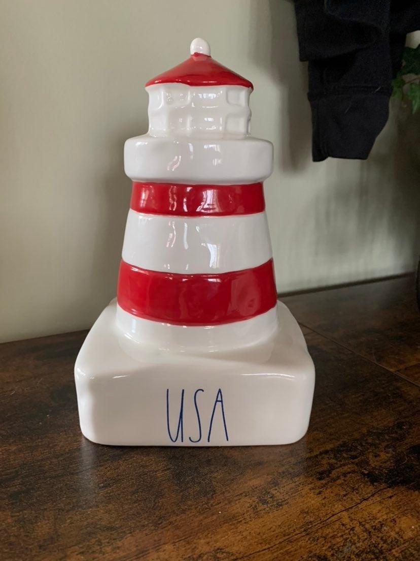 Rae Dunn USA lighthouse
