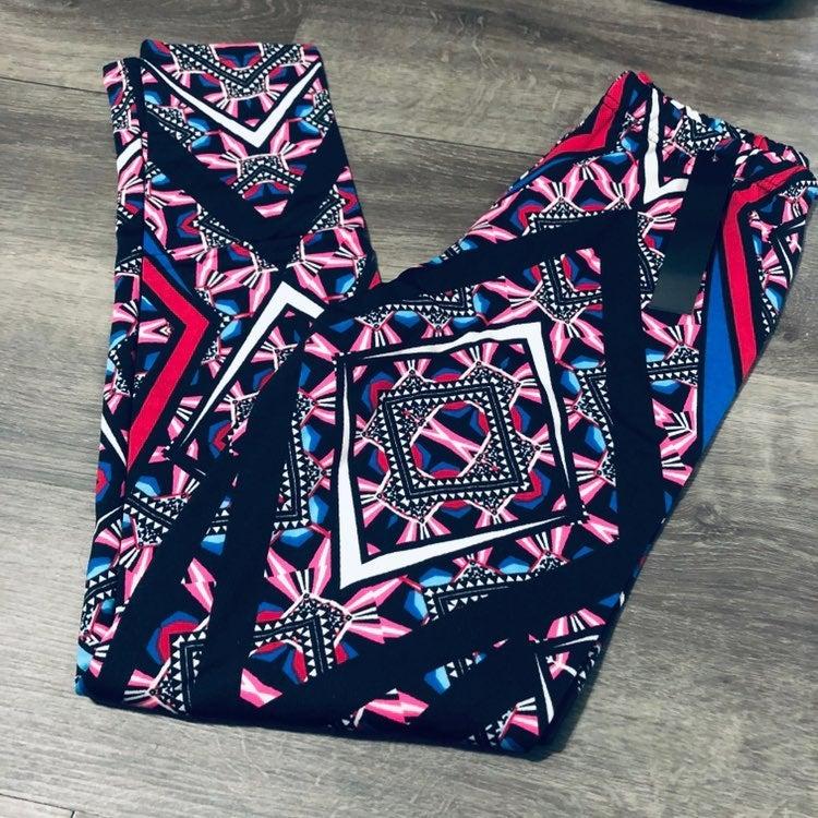 Aztec LXL Fleece Lined Leggings