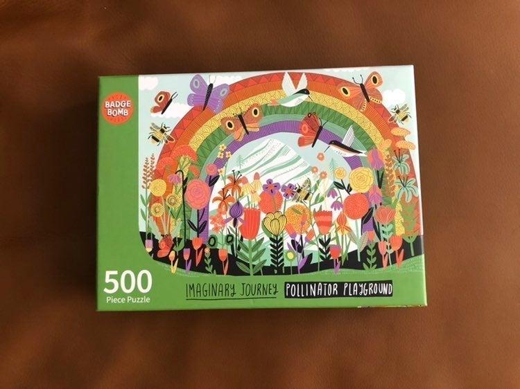 Badge Bomb Pollinator Playground Puzzle
